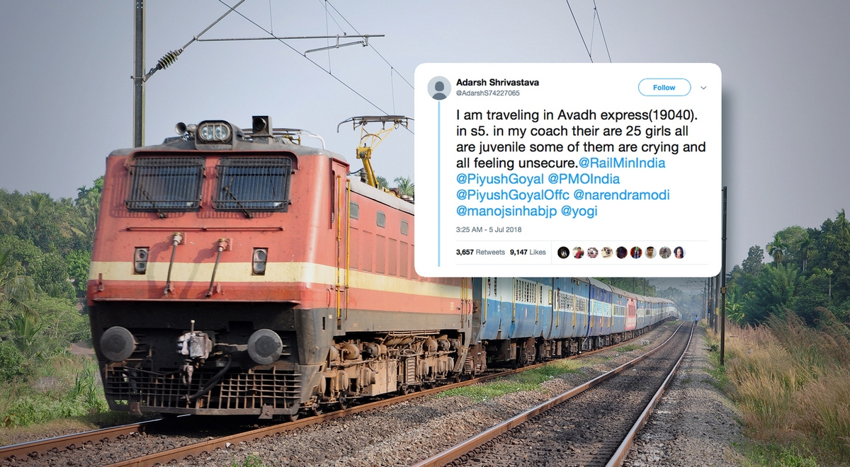 PassengerTrainIndia Tweet